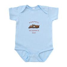 Happy Veteran's Day Infant Bodysuit