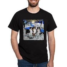 AUSTRALIAN SHEPHERD DOGS WINTER T-Shirt