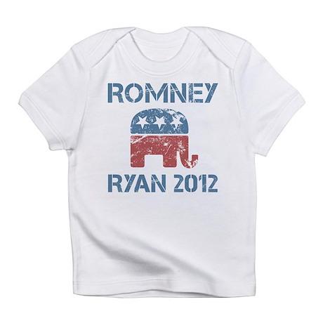 Vintage Romney Ryan R Infant T-Shirt