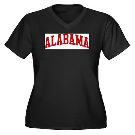 ALABAMA (red) Plus Size T-Shirt