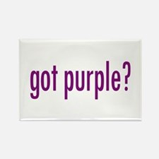 got purple? Rectangle Magnet