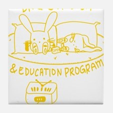 Drug Outreach & Education Program T-shirt Tile Coa