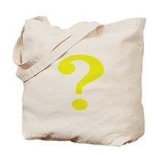 Fancy Question Mark Tote Bag