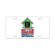 Approval Aluminum License Plate