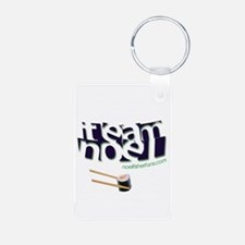 Team Noel Aluminum Photo Keychain