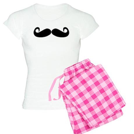 Mustache Women's Light Pajamas