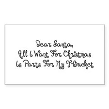 Dear Santa All I Want For Christmas Is Parts For M