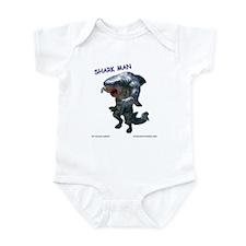Chace Lobleys Shark man. Infant Bodysuit