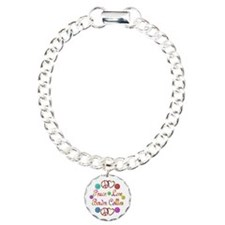 Border Collies Charm Bracelet, One Charm