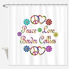 Border Collies Shower Curtain