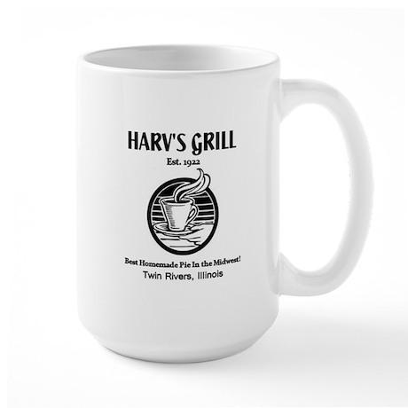 Harv's Grill Large Mug