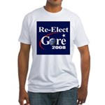 RE-ELECT GORE Fitted T-Shirt