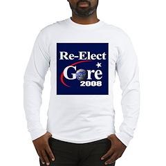 RE-ELECT GORE Long Sleeve T-Shirt