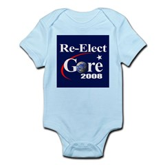 RE-ELECT GORE Infant Creeper