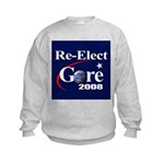 RE-ELECT GORE Kids Sweatshirt