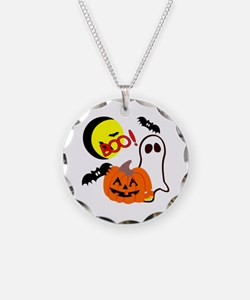 Halloween Boo Friends Necklace