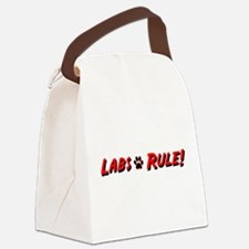 Labs Rule Canvas Lunch Bag