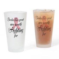 Great Boobs Drinking Glass