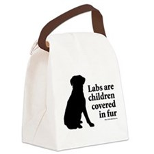 Lab are Fur Children Canvas Lunch Bag