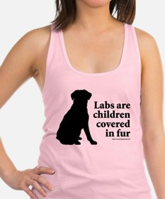 Lab are Fur Children Racerback Tank Top