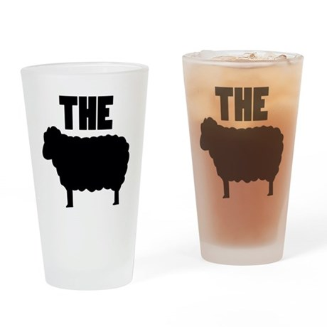 The Black Sheep Drinking Glass