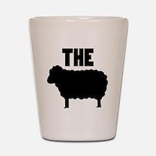 The Black Sheep Shot Glass
