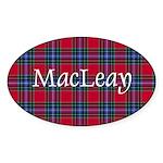 Tartan - MacLeay Sticker (Oval 10 pk)