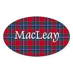 Tartan - MacLeay Sticker (Oval 50 pk)