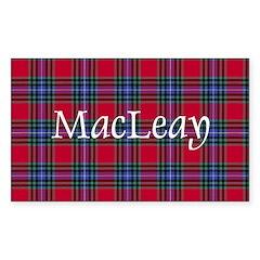 Tartan - MacLeay Decal
