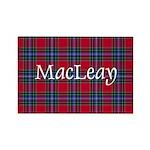 Tartan - MacLeay Rectangle Magnet