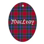 Tartan - MacLeay Ornament (Oval)