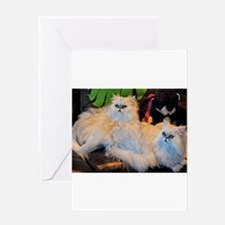 THE CATS MEOW Greeting Card