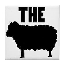 The Black Sheep Tile Coaster
