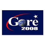 RE-ELECT GORE Rectangle Sticker