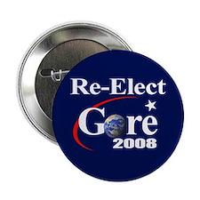 RE-ELECT GORE Button