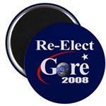 RE-ELECT GORE Magnet