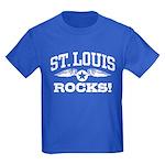 St. Louis Rocks Kids Dark T-Shirt