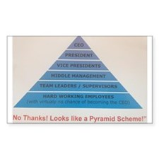 Pyramid Scheme Decal