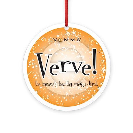 Verve Energy Drink Ornament (Round)