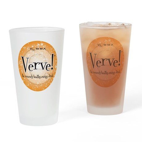 Verve Energy Drink Drinking Glass
