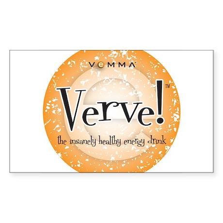 Verve Energy Drink Sticker (Rectangle)