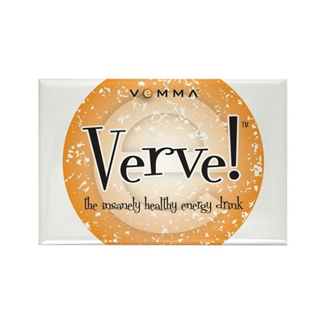 Verve Energy Drink Rectangle Magnet