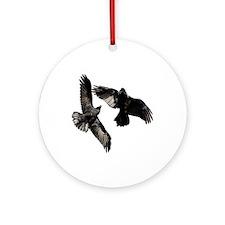 Raven Dance Ornament (Round)