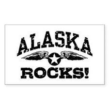 Alaska Rocks Decal