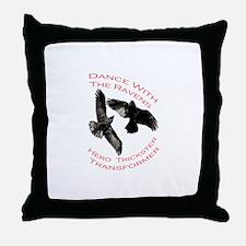 Raven the Transformer Throw Pillow