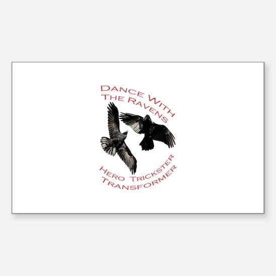 Raven the Transformer Sticker (Rectangle)