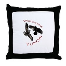 Whitehorse, Yukon Throw Pillow