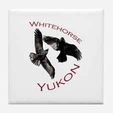 Whitehorse, Yukon Tile Coaster