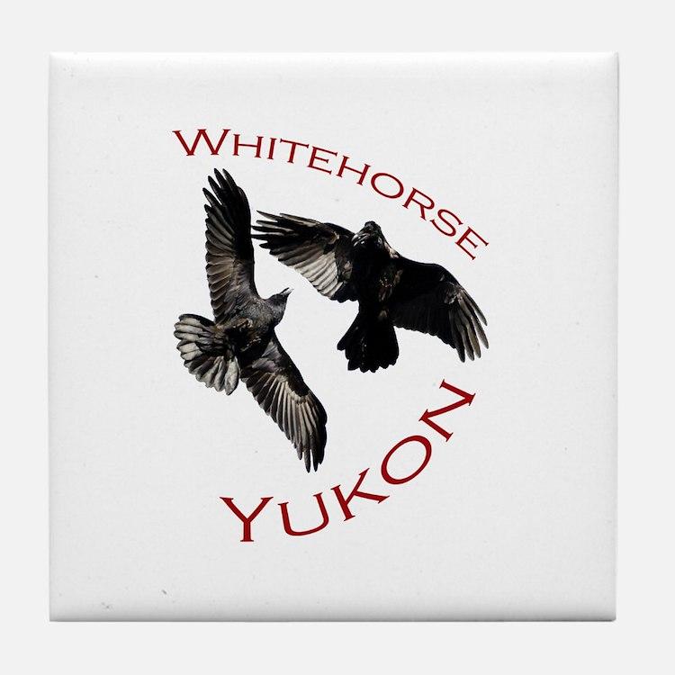Whitehorse, Yukon Tile Coaster