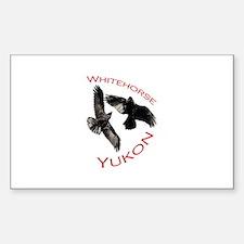 Whitehorse, Yukon Sticker (Rectangle)